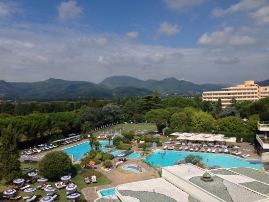 Terme di Galzignano - Hotel Splendid: Dalla camera!