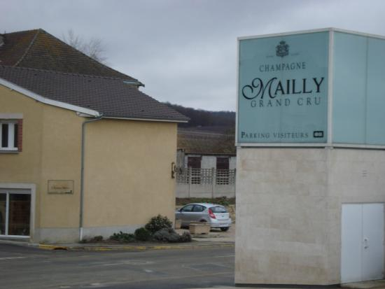 Mailly-Champagne, Francia: Champagne mailly
