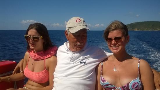 Marina di Campo, Italy: personale altamente professionale e simpatica allo stesso tempo...giornata indimenticabile