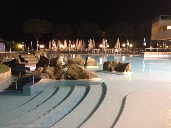 Terme di Galzignano - Hotel Splendid: Piscine notturne