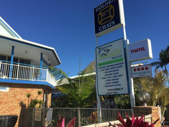 Beachside Motor Inn: Entrance