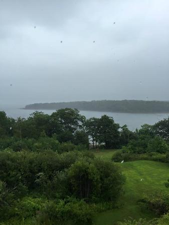 Rockport, ME : The Ledges - view from our room