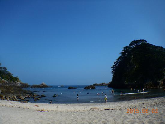 Shikine-jima, Ιαπωνία: 石白川海水浴場