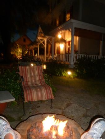 The Inn at Southwest : Relaxing at the Inn after a long day of hiking beautiful MDI