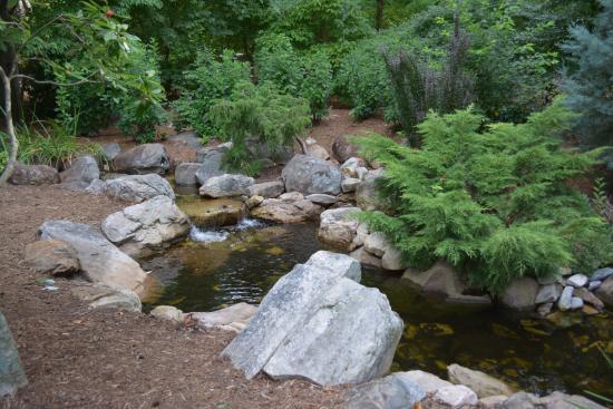 A Peaceful Stream Picture Of Tanger Family Bicentennial Garden Greensboro Tripadvisor