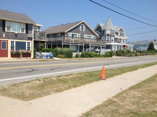 The Seaside Inn : view from the beach