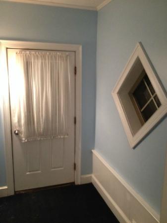 The Seaside Inn: outside room door