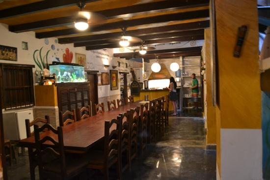 Posada Lagunita: Comedor