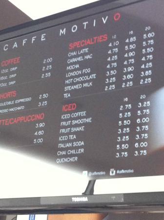 Caffe Motiv