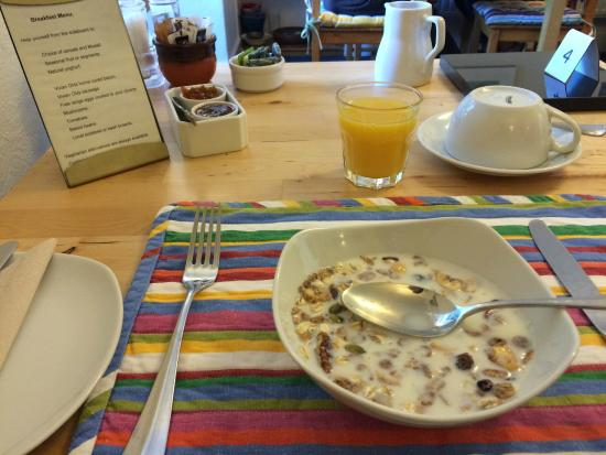 The Tremont: breakfast hall