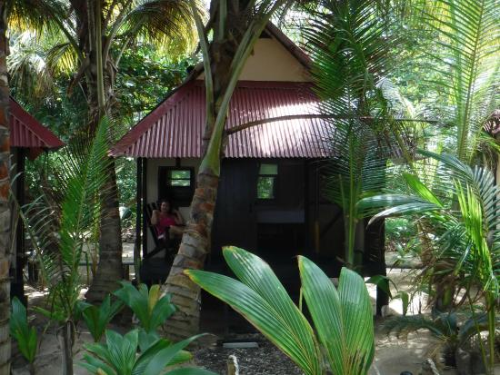 Little Corn Beach and Bungalow: cabana crusoe
