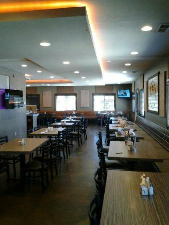 Ranchester, WY: The dining area.