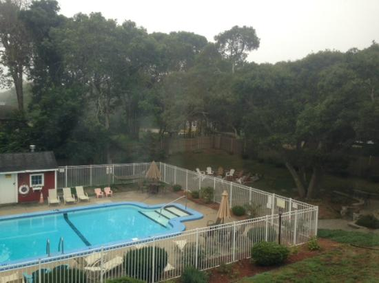Inn at Swan River: pool/outdoor area view from our room