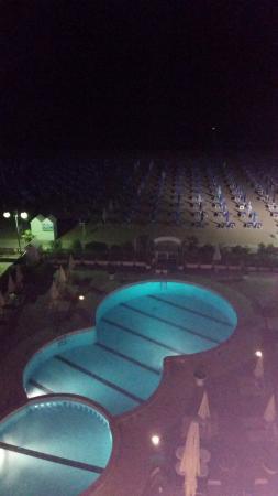 Hotel Galassia: vista di notte