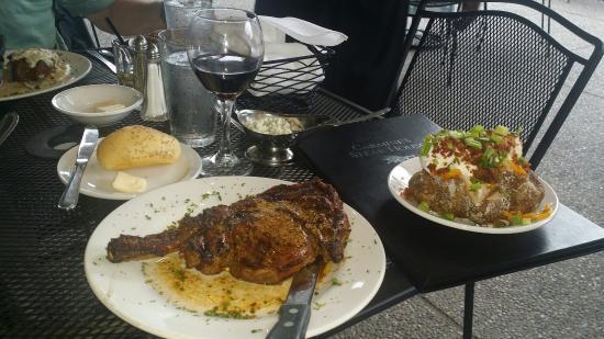 Carmine S Steak House Best 20 Oz Ribeye I Ve Had