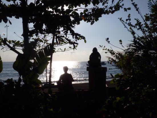 Chez Kin : Vue de notre terrasse