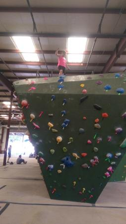 Circuit Bouldering Gym SW: I made it to the top!