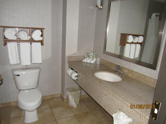Bathroom Picture Of Holiday Inn Express Hotel Suites Farmington Farmington Tripadvisor
