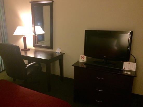 Clarion Hotel: La chambre