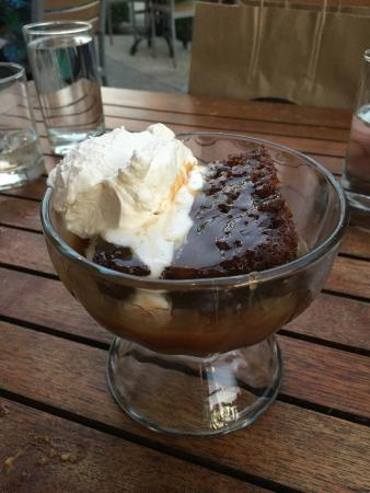 Sticky Toffee Pudding Picture Of Late Harvest