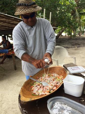 Huahine Nautique: Un moment très agréable en compagnie d'Armando, notre guide le journée!!!