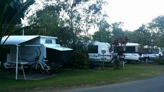 BIG4 Atherton Woodlands Tourist Park: Nice Caravan Park