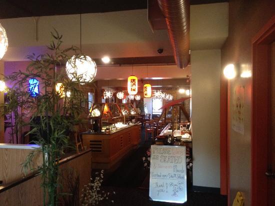 Sake Japanese Restaurant : Inside of the restaurant