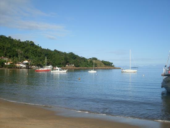 Pousada Biscaia : Vista da praia da pousada