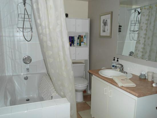 Dorothy's Guest House: Bathroom in Suite