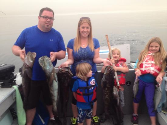 Van Isle Fishing and Marine Adventures: Days catch