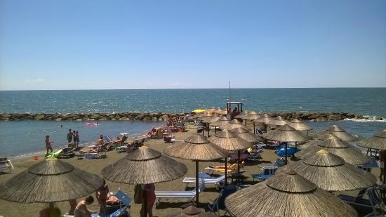 Bagni Blue Marlin Nervi : Dalla terrazza picture of blue marlin ladispoli tripadvisor