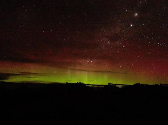 BEST WESTERN Foreshore Motel and Tavern: Southern Lights. Photo taken at South Arm