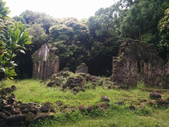 ‪The Kaniakapupu Ruins‬