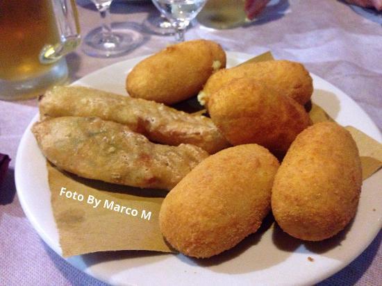 Da Romeo: Crocchette di Patate e Fiori di Zucca