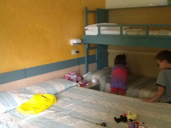 Hotel Solidea : Letto a castello