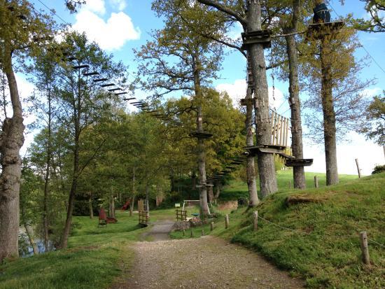 Gorron, Francja: accrobranche
