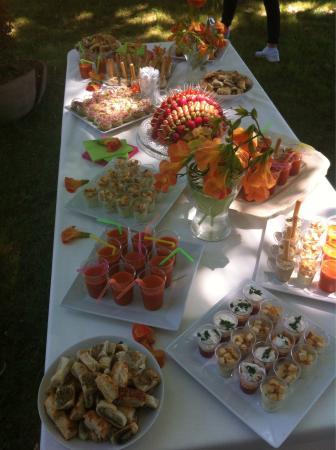 Sehr Buffet apéritif et repas de mariage ;) - Photo de La Fourquette  TD64