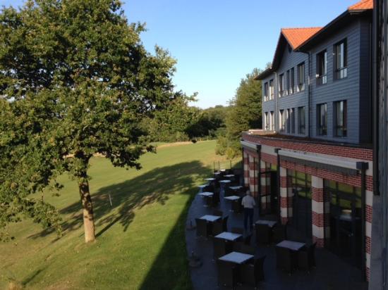 Hôtel du Golf : View from room 1