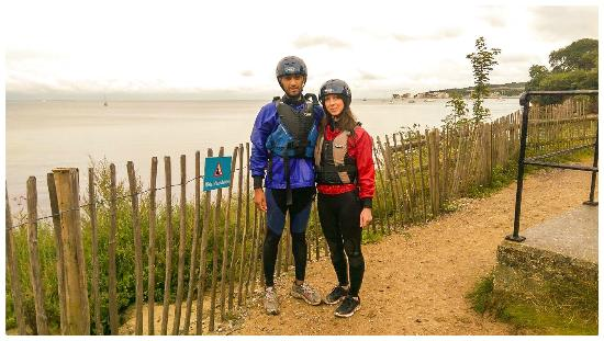 Studland Sea School: Just after our Kayaking Trip