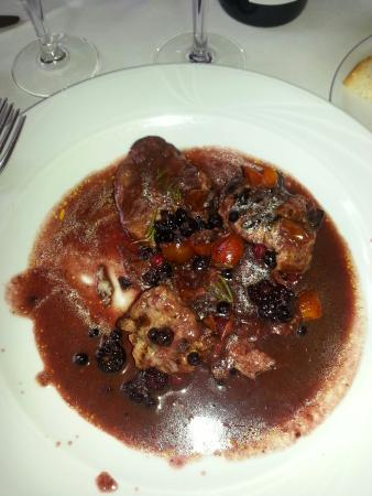 Genga, Włochy: Maialino con salsa ai frutti di bosco