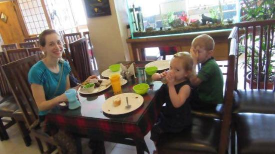 The Eee Cee Hotel : In House Guests enjoying their morning meals