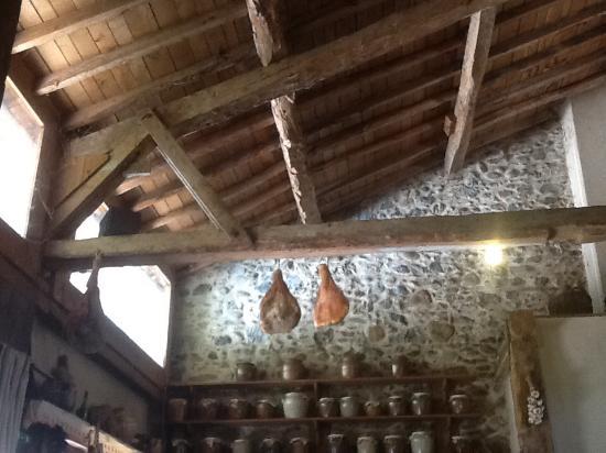 L'Auberge d'Antan: la salle du restaurant