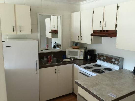 Waterfront Suites and Marina: Kitchenette of unit 216