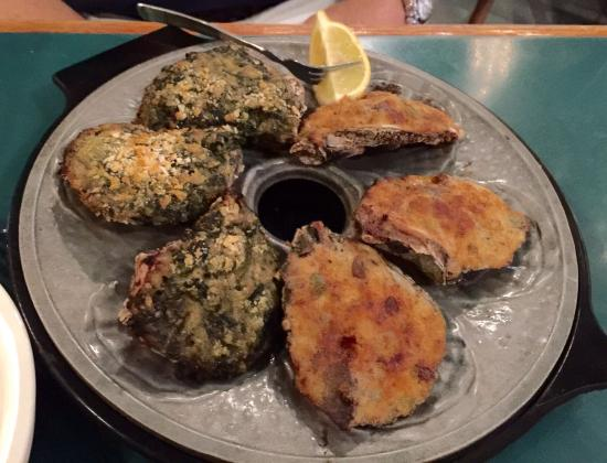 Half Shell: Oysters Rockefeller and Bienville