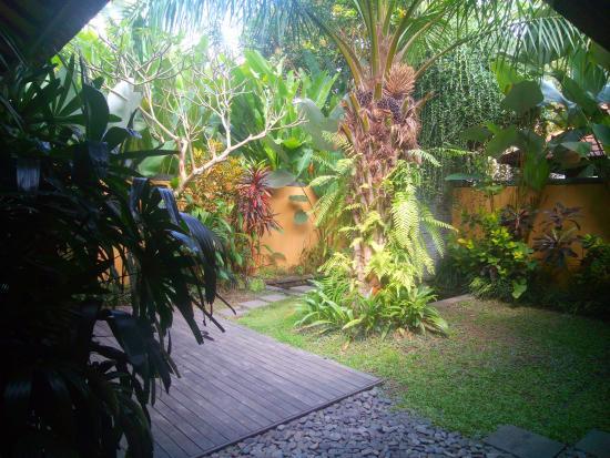 Bayad Ubud Bali Villa: Vista dalla camera letto 2