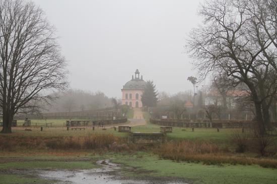 Churfürstliche Waldschänke Moritzburg: Little Pheasant Castle from Lighthouse