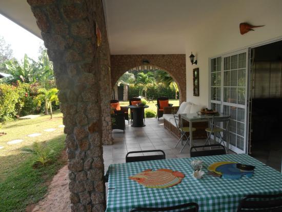 Villa Gaiarda: Area colazione