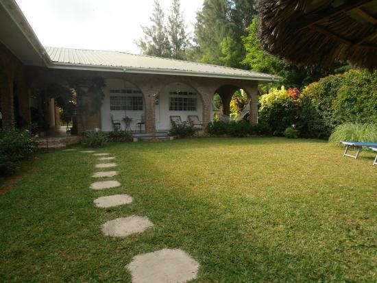 Villa Gaiarda: Struttura