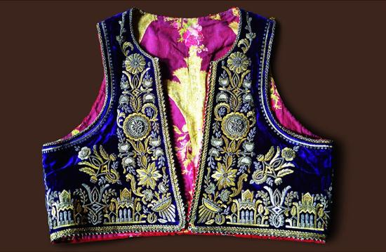 Berat County, Albania: Ethnographic Museum, Berat Albania , Waistcoat embroidered in gold