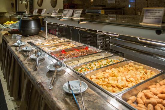 Patagonia Atiram Hotel: Buffet de cenas